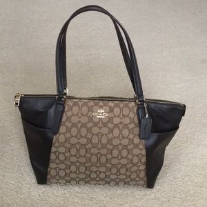 Authentic Coach Ava Tote Bag